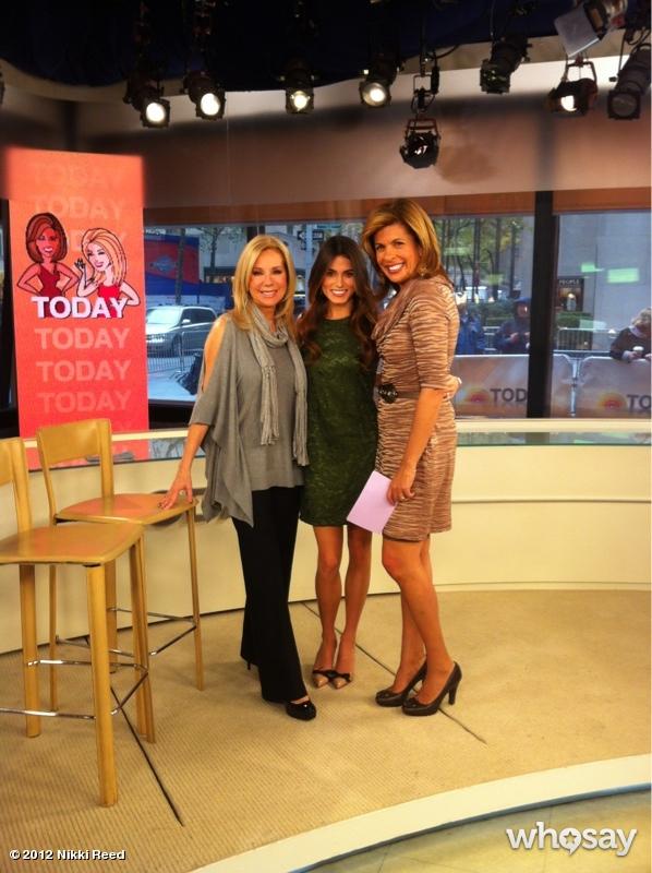 Nikki Reed en Today Show