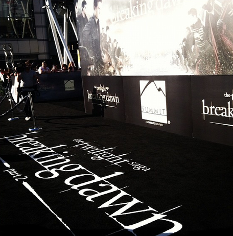 Premiere Mundial de Breaking Dawn: Master Post