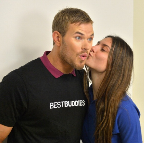 "Best Buddies Welcomes ""Twilight"" star Kellan Lutz"
