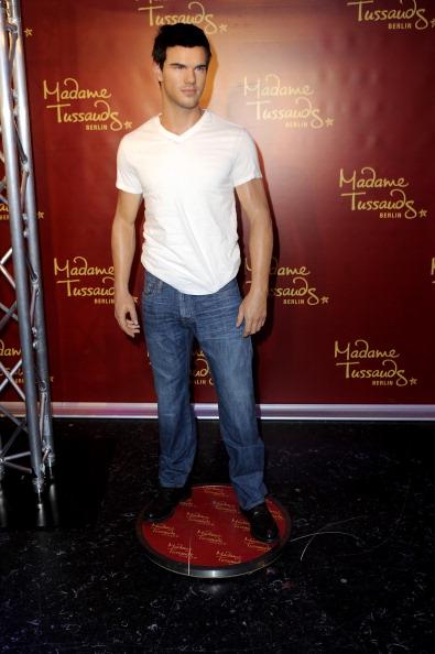 Georgina Fleur Unveils Taylor Lautner Wax Figure