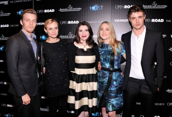 "The Cinema Society & Jaeger-LeCoultre Hosts A Screening Of ""The Host"" - Arrivals"