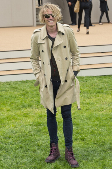 Burberry Prorsum Arrivals - London Collections: MEN SS14