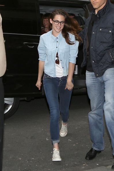 Kristen Stewart Sighting In Paris