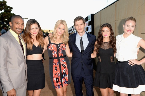 CW, CBS And Showtime 2013 Summer TCA Party - Red Carpet