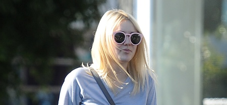 Dakota Fanning And Mother Heather Leave Friend's House, Shop At Fred Segal Boutique