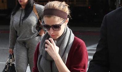 Celebrity Sightings In Los Angeles - January 23, 2014